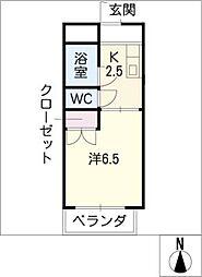 福善ビル[4階]の間取り