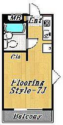 フローラ5[1階]の間取り