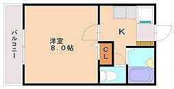 シルエーラ桜ヶ丘[2階]の間取り
