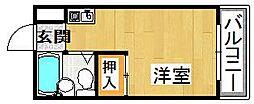 KIHRA HAIMU[2階]の間取り