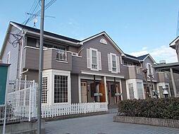 兵庫県姫路市飾西の賃貸アパートの外観