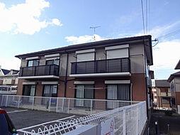 ソレイユ岡崎B[1階]の外観