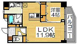 Porlato Sakai[6階]の間取り
