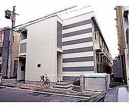 京都府京都市上京区下立売通猪熊西入橋西二町目の賃貸アパートの外観
