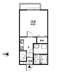 メゾングランデ[2階]の間取り