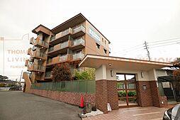 福岡県小郡市寺福童の賃貸マンションの外観