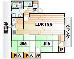 ディアスNAKAI A棟[1階]の外観