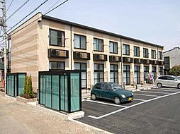 埼玉県さいたま市岩槻区城南4丁目の賃貸アパートの外観