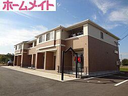 三重県多気郡明和町大字坂本の賃貸アパートの外観