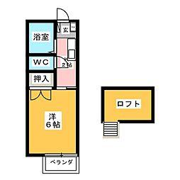 コーポ213[2階]の間取り