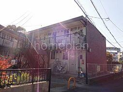 大阪府四條畷市岡山東2丁目の賃貸アパートの外観