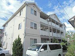 岡山県岡山市南区泉田の賃貸アパートの外観