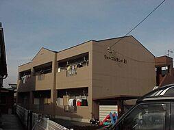 愛知県一宮市木曽川町内割田字高田杁ノ戸川田の賃貸アパートの外観