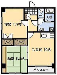 maison.m.a[402号室]の間取り