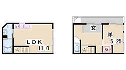 Y'sHouse RD-08[1階]の間取り