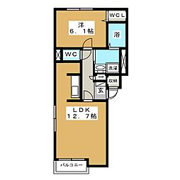 North35[4階]の間取り