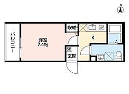 ヴィレッタ武庫之荘[1階]の間取り