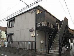 東京都世田谷区上用賀6丁目の賃貸アパートの外観