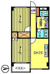 第2宇田川ビル[7階]の間取り