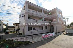 岡山県岡山市中区清水の賃貸マンションの外観