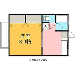 アパートメントハウス瑤林[103号室]の間取り