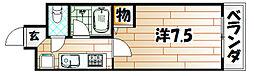 メゾン浅川台[405号室]の間取り