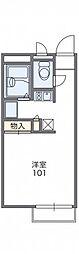 レオパレスK.S.K[2階]の間取り