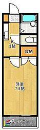メゾン本庄[1階]の間取り