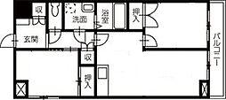 高須ハイツ[301号号室]の間取り