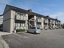 滋賀県東近江市八日市清水2丁目の賃貸アパートの外観