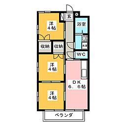 大楽ハイツI[1階]の間取り