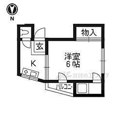 東野駅 2.5万円