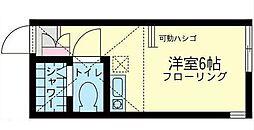 ユナイト矢向ルーチェ・エテルナ[2階]の間取り