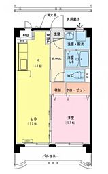 エクシード霧島[101号室号室]の間取り