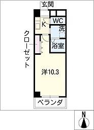 COCOM・Y[4階]の間取り