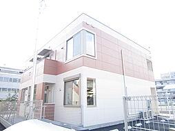 埼玉県坂戸市末広町の賃貸アパートの外観