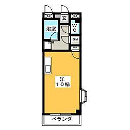 鳴子NOVA[2階]の間取り