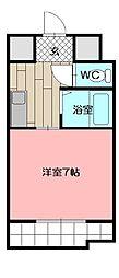 オリエンタル原町別院[1階]の間取り