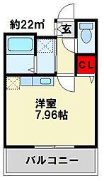 アグリード下曽根Ⅱ[4階]の間取り