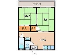 メゾン小幡[2階]の間取り