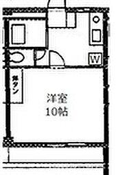 富士見テラス[204号室]の間取り