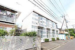 東京都調布市深大寺東町3丁目の賃貸アパートの外観