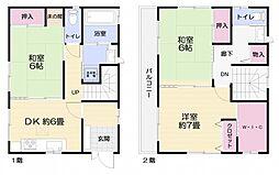 [一戸建] 神奈川県横須賀市坂本町4丁目 の賃貸【/】の間取り