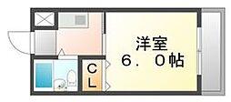 香川県高松市新北町の賃貸マンションの間取り