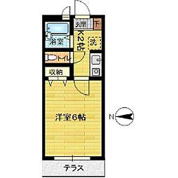 パークハウスA[103号室]の間取り
