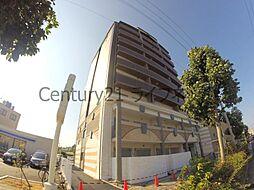 大阪府大阪市東淀川区東中島3丁目の賃貸マンションの外観