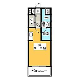 グラン・アベニュー西大須[9階]の間取り