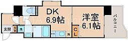 ウィルドゥ十三東2nd[9階]の間取り
