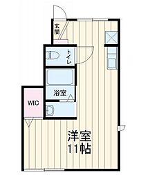 エスポワールKasukabe[1階]の間取り