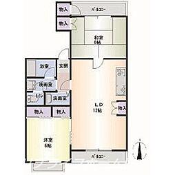 第二小西ビル[2階]の間取り